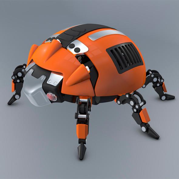 Beetle Ladybug robot