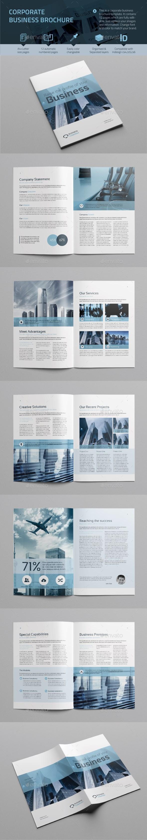 GraphicRiver Corporate Business Brochure vol.3 9235634