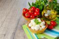 Mozzarella, tomatoes and oil - PhotoDune Item for Sale