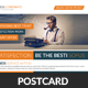 Marketing Corporate Business Postcard Template - GraphicRiver Item for Sale