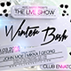 Winter Bash Party Flyer - GraphicRiver Item for Sale