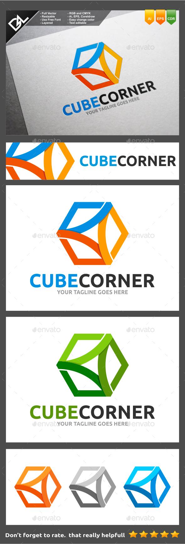 GraphicRiver Cube Corner 9236147