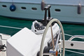 Sailing yacht control wheel and implement - PhotoDune Item for Sale