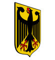 Coat of Arms of Germany, Black Eagle on a Yellow Field, 3d Render - PhotoDune Item for Sale
