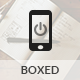 Boxed | Mobile & Tablet Template - Mobile Site Templates