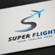 Super Flight Logo - GraphicRiver Item for Sale