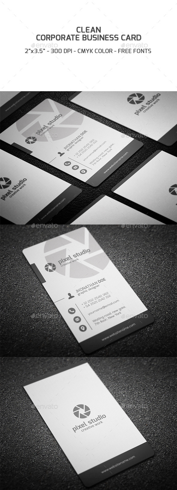 GraphicRiver Corporate Business Card 9236976