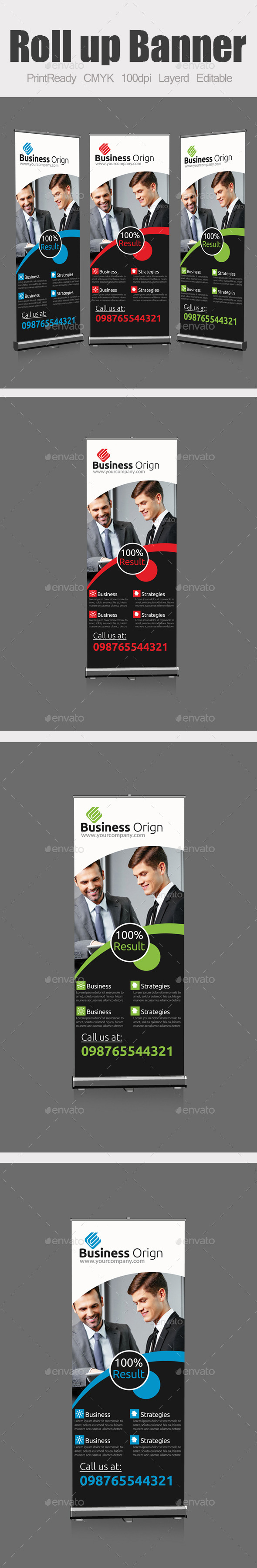 GraphicRiver Roll Up Business Banners 9237009
