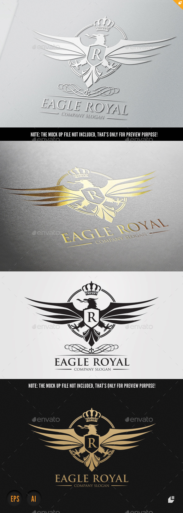 GraphicRiver Eagle Royal 9237339
