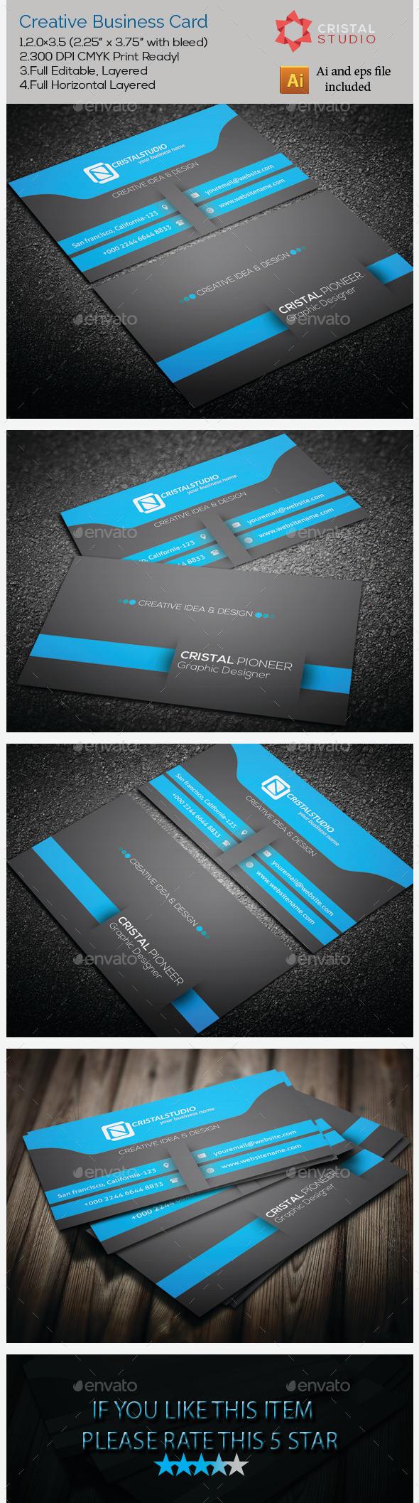 GraphicRiver Creative & Seiram Business Card 9237648