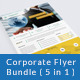 Corporate Flyer Bundle ( 5 in 1 ) - GraphicRiver Item for Sale