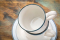 stacked coffee cups abstract - PhotoDune Item for Sale