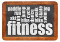 fitness word cloud - PhotoDune Item for Sale