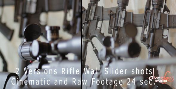 Rifle Wall Slider Shot