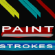4 Paint Stroke Elements - VideoHive Item for Sale