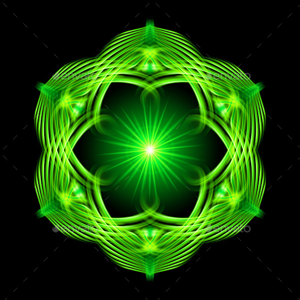 GraphicRiver Green Pattern 9238050