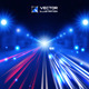 Blue Tint Night Road - GraphicRiver Item for Sale