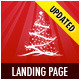 Landing Page for Christmas Offer or Portfolio - Retail Landing Pages