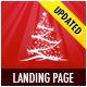 Landing page pour Noël Offre ou Portfolio - Landing Pages détail