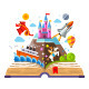 Imagination Concept - Open Book - GraphicRiver Item for Sale