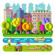 City Park Recreation - GraphicRiver Item for Sale