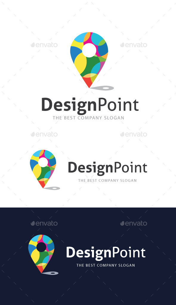 GraphicRiver Design Point Logo 9239510