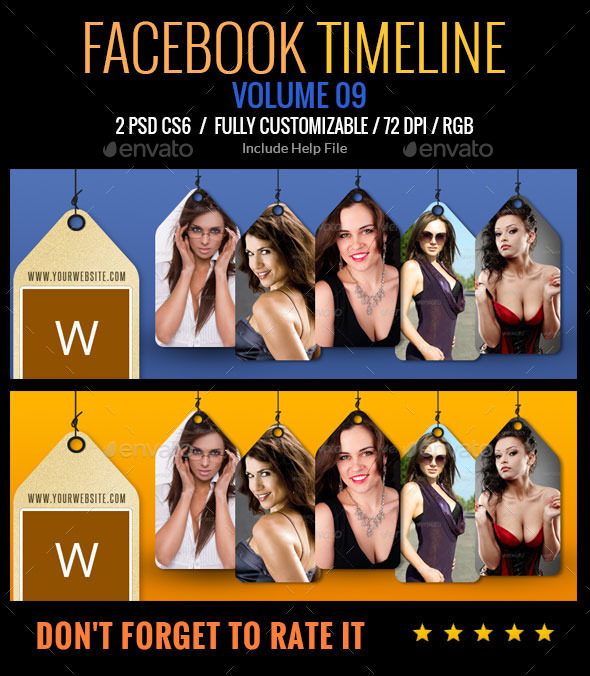 GraphicRiver Facebook Timeline 9239572