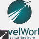 Travel World Logo Template - GraphicRiver Item for Sale