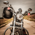 Motorcycle on the road - PhotoDune Item for Sale
