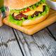 Burger cheeseburger - PhotoDune Item for Sale