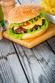 Burger cheeseburger - PhotoDune Item for Sale