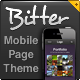 Bitter Mobile Page - Flexible Design + Extras  - ThemeForest Item for Sale