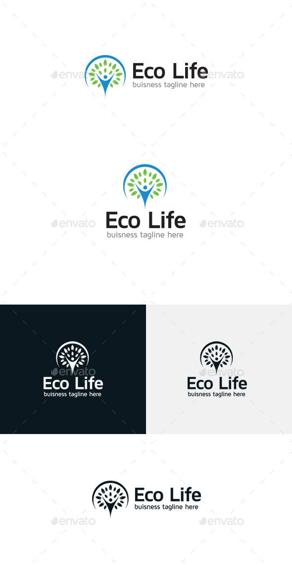 GraphicRiver Eco Life 9240862