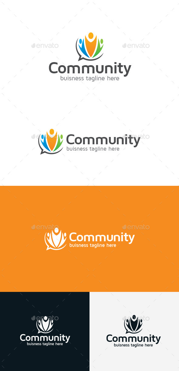 GraphicRiver Community Logo 9241055