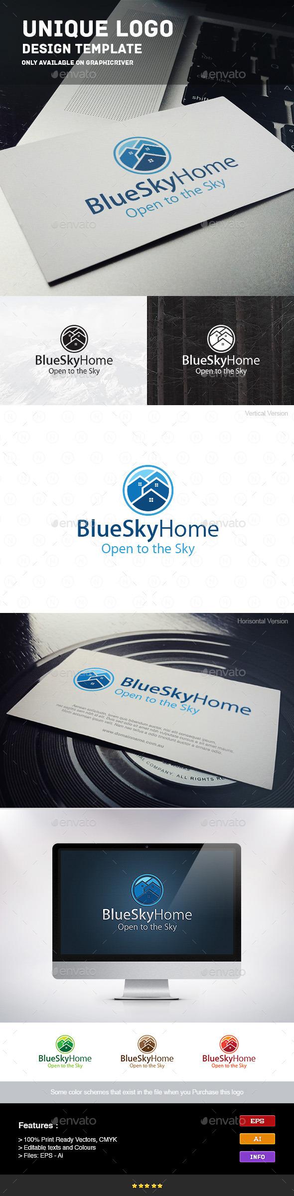 GraphicRiver Home Sky 9241075