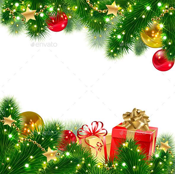GraphicRiver Christmas Background 9241078