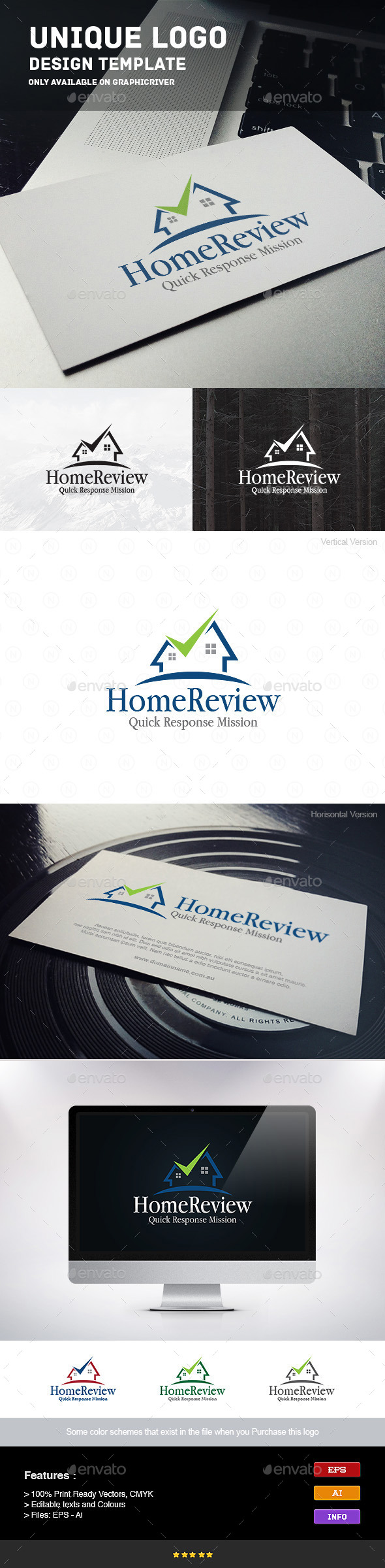 GraphicRiver Home Review 9241080
