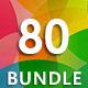 80 Backgrounds Bundle - GraphicRiver Item for Sale