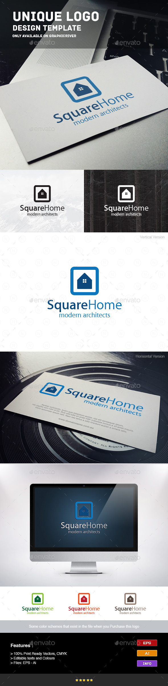 GraphicRiver Square Home 9241095