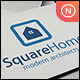 Square Home - GraphicRiver Item for Sale