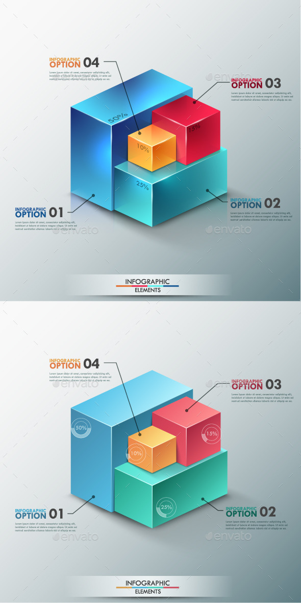 GraphicRiver Modern Infographic Options Template 2 Items 9241100