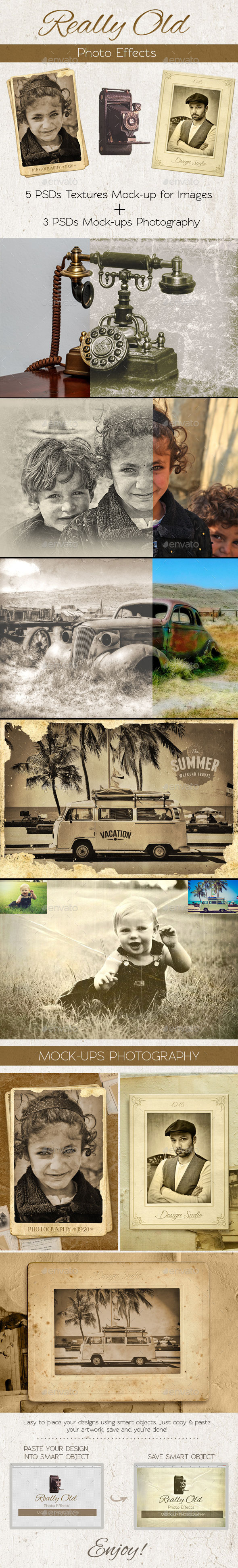 GraphicRiver Really Old Photo Effects 9241102