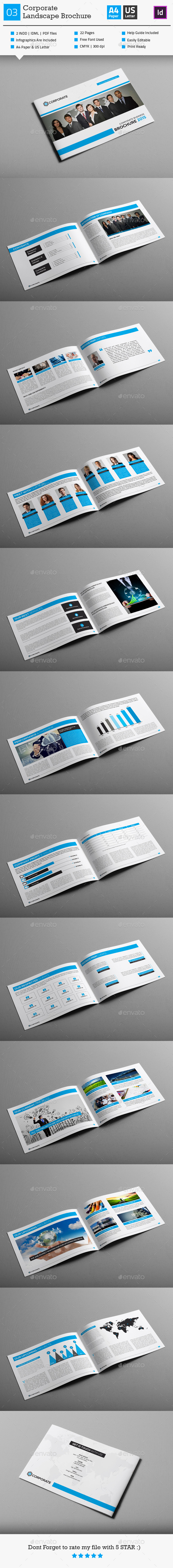 Corporate Business Brochure 03 Landscape