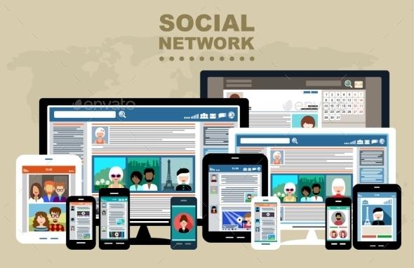 GraphicRiver Internet Communication 9241228