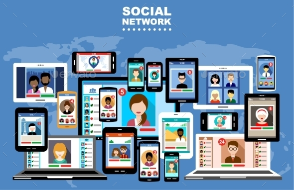 GraphicRiver Social Networks 9241239