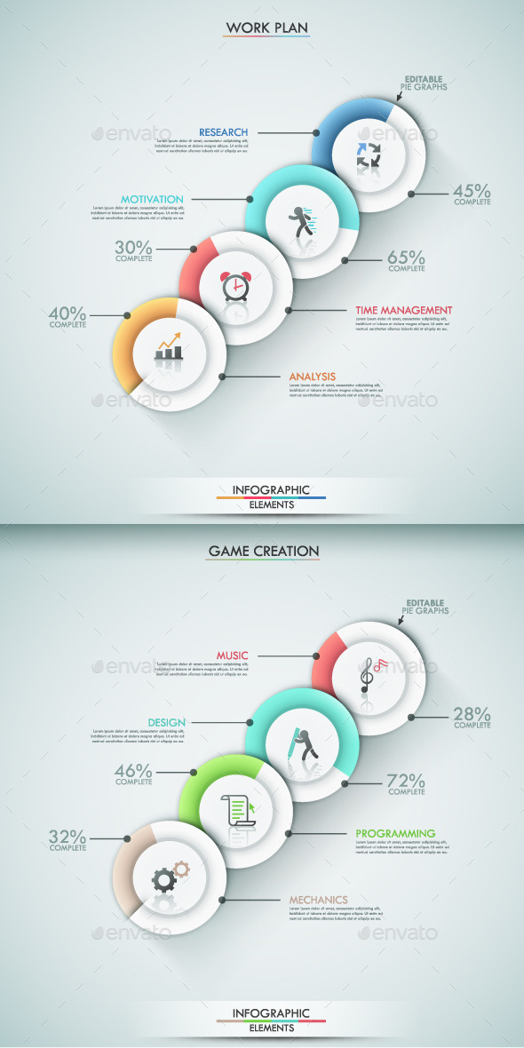 GraphicRiver Modern Infographic Options Template 2 Items 9241268