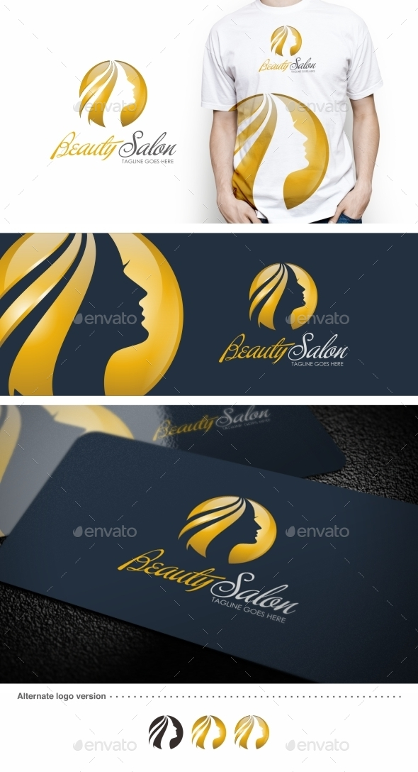 GraphicRiver Beauty Salon Logo Template 9241270