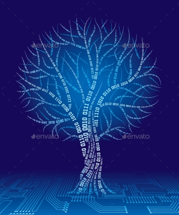 GraphicRiver Binary Tree 9241272