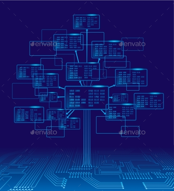 GraphicRiver Binary Tree 9241273