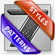 RUGGED LAYER STYLES & PATTERNS - GraphicRiver Item for Sale
